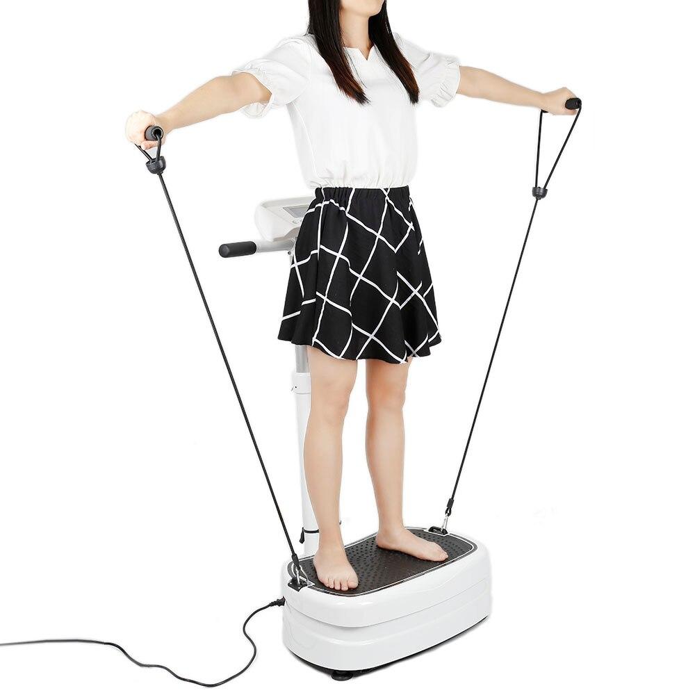 V9 Electric Slimming Device Fat Burning Vibration Fitness Massager Health Vibrating Plate Body Shaper HWC vibration of orthotropic rectangular plate
