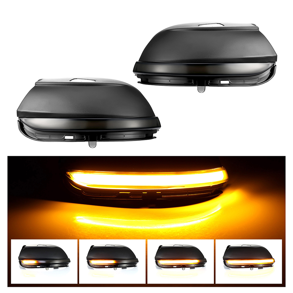 for VW Scirocco MK3 Passat B7 CC EOS Beetle Dynamic Mirror Indicator Blinker Side Mirror LED