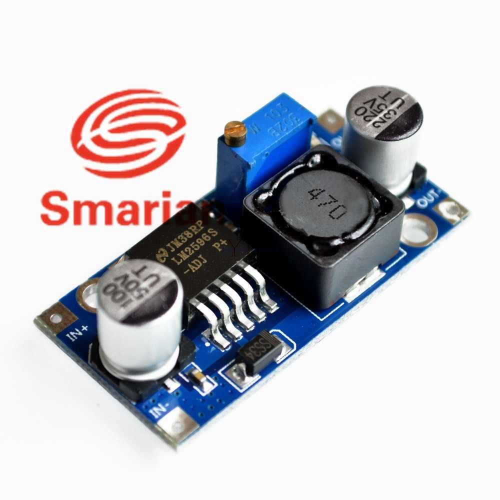 Smarian официальный DC-DC понижающий преобразователь модуль LM2596 DC 4,0 ~ 40 до 1,3-37 V Регулируемый Напряжение регулятор diy rc игрушка робот комплект
