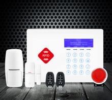 Touch Keypad RIFD Wireless GSM Alarm System