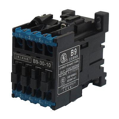 B9-30-10 380V 50Hz Coil 28A(AC-1) Ie 3 Pole 3NO 660V Ui AC Contactor