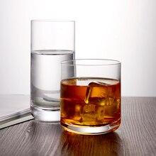 2 Упакованные чашки сока лучшее качество Бессвинцовая Хрустальная стеклянная посуда стекло 300 мл/10ozl 400024/400025