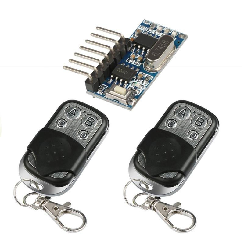 433 Mhz Universal Wireless Remote Control Switch Battery
