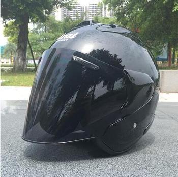 Top hot kask motocyklowy pół kask otwarty kask motocrossowy kask rozmiar S M L XL XXL tanie i dobre opinie NYLON Half helmet SUWDT
