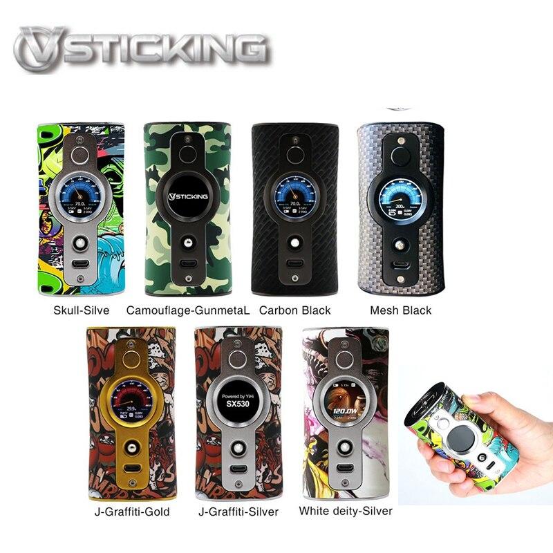 Original 200 W vstick VK530 TC boîte MOD avec YiHi SX530 puce et système de contrôle sxi-q No 18650 batterie Vape Mod Vs Luxe boîte Mod