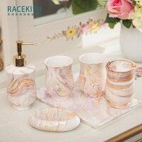 Rui shikai поэзия современный минималистский ванной керамическая мойте костюм для ванной Чистка чашки для ванной Шесть костюм