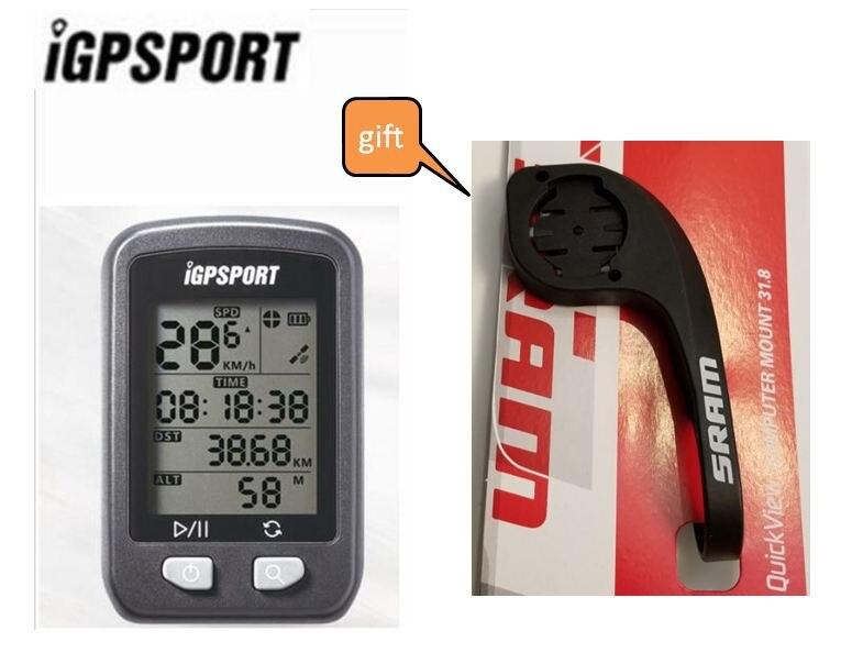 IGPSPORT GPS IPX6 Velocímetro de Bicicleta Sem Fio Do Computador À Prova D' Água Digital Cronômetro Ciclismo Bicicleta Velocímetro Computador Esportes
