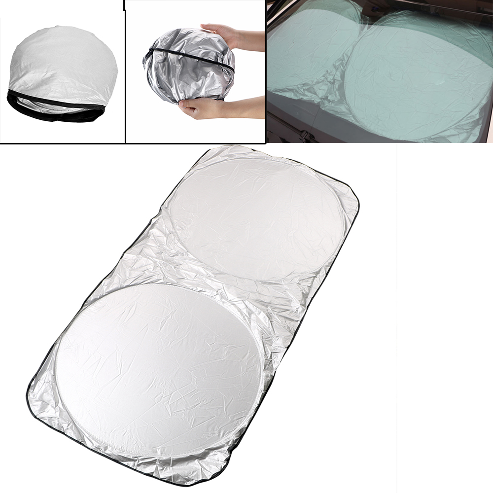 iTimo 150*70cm Car Windowshield Sunshade Folding Window Film Auto Front Rear Windscreen Sun Shade Visor Cover UV Protect Sun Block