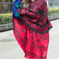 1Pc National Wind Round Thickened Cape All-matched Women Shawl Warm Cloak Winter Autumn #33531