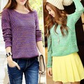 Free shippin hot sale special offer 2014 new show wool sweater knit models seconds kill o-neck promotion arrival limited