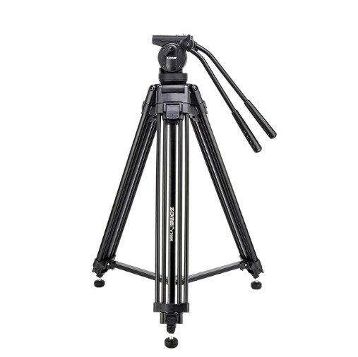ZOMEI VT666 プロフェッショナルヘビーデューティ DV ビデオカメラのカメラの三脚スタンド流体ヘッド  グループ上の 家電製品 からの 三脚 の中 1