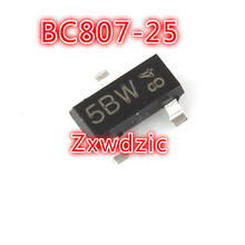 100PCS BC807-25 SOT23 807-25 SOT SMD 5B new transistor 1000pcs bc817 25 sot23 817 25 sot smd 6b new transistor free shipping