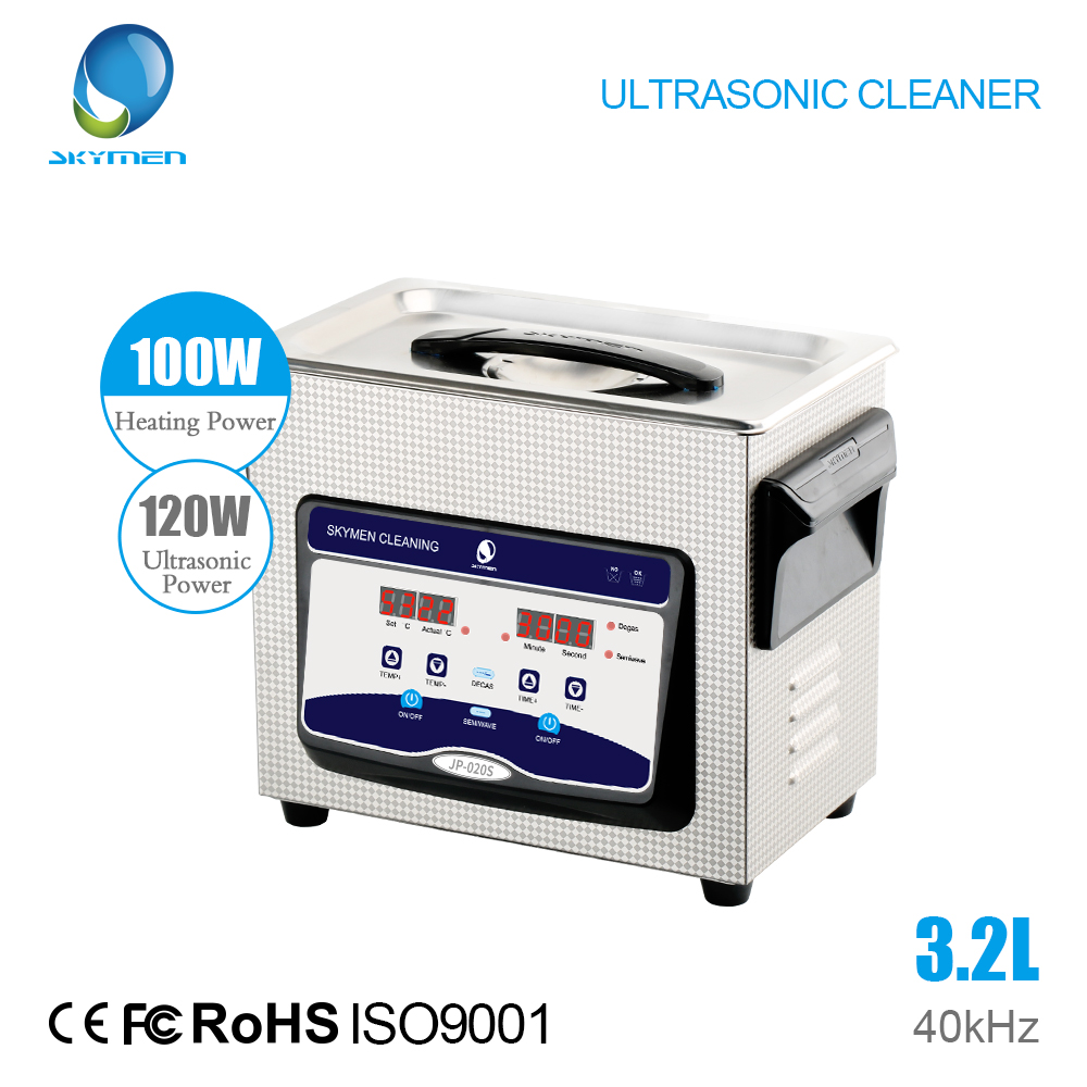 SKYMEN Digital Limpeza Ultra-sônica Banheira 3.2L 120 W 40 kHz Componente Comercial Equipamentos Médicos Hospitalares/Dispositivos de Limpeza