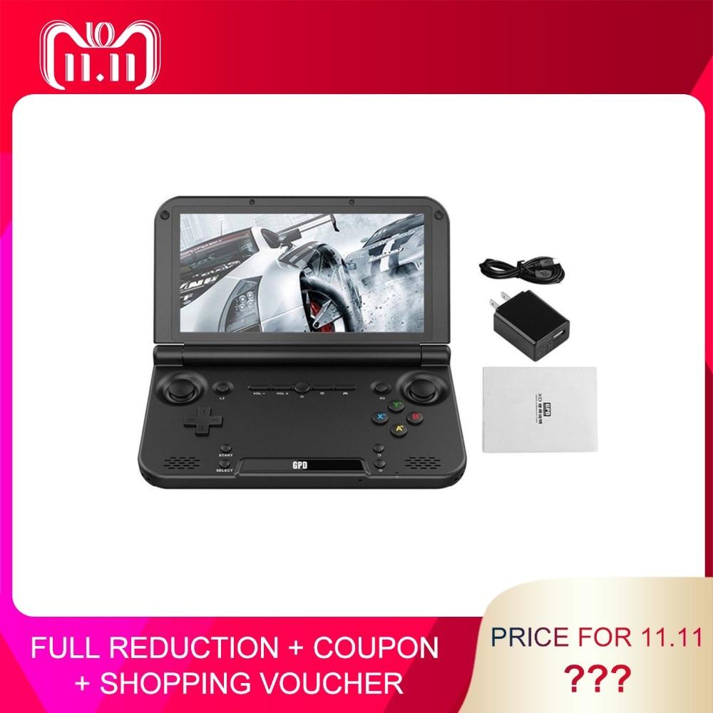 Tamaño portátil GPD XD PLUS 5 pulgadas reproductor de juego Gamepad 4 GB/32 GB MTK8176 2,1 GHz juego de mano juego de consola jugador