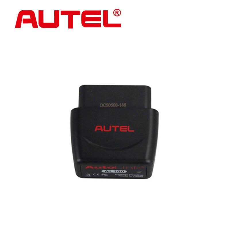 ФОТО [Authorization Distributor] Original Autel AutoLink AL100 Autolink DIY Bluetooth OBDII/EOBD Scanner for iPhone/iPad/iPad Mini