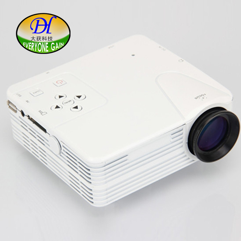 Everyone gain smart portable lcd with remote control home business projector with...