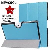 Case dla Acer B3-A40 tablet, PU Leather Biznes Folio Stań Autom Inteligentne skrzynki pokrywa Dla Acer Iconia Jeden 10 B3-A40 10.1 cali