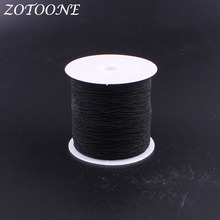 ZOTOONE 200Meters/Roll Elastic Polyester Sewing Threads Set Embroidery Yarn For Machine DIY Apparel & Fabric