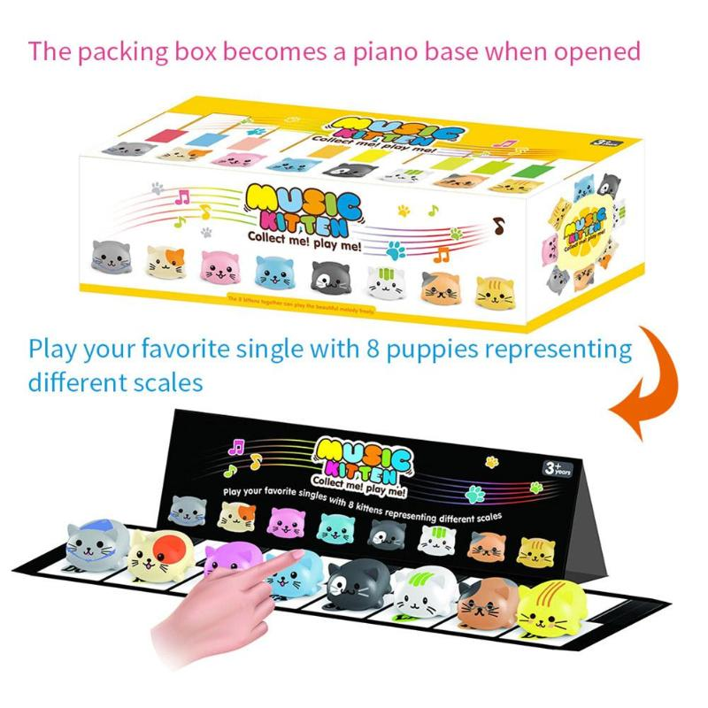 купить Electronic Scale Dog Toy Dog Music Player Toy Pet Puppy Cat Choir Children Educative Toys for Kids Playing Accessories Gifts недорого