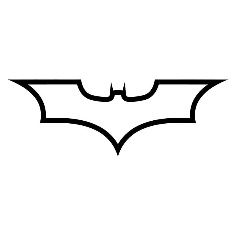 1968CM Batman Logo Dark Knight Fashion Decal Car Body Car