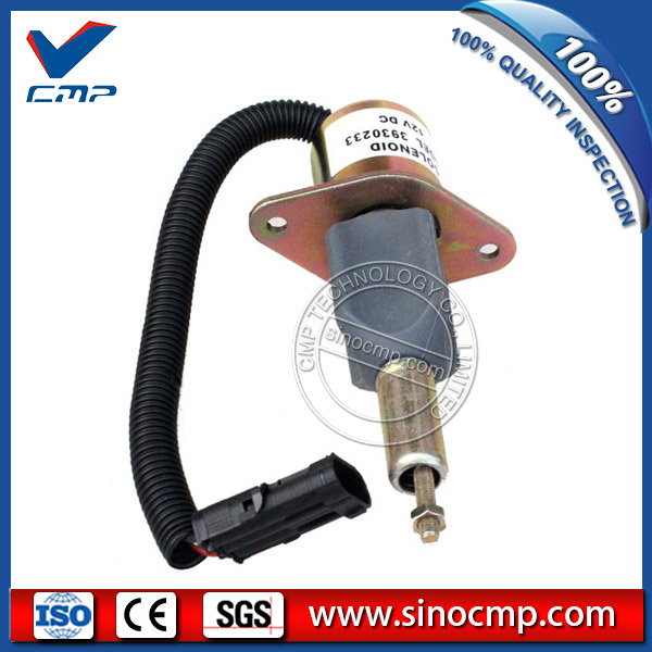 12v 6BT 6CT fuel stop solenoid valve SA-4335-12, 3930233 for cummins excavator cmp stop solenoid valve 3935650 for cummins excavator