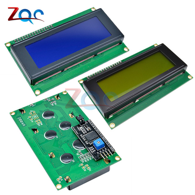 LCD2004 IIC/I2C LCD Display Monitor 2004 20X4 5V Character Blue Yellow Backlight Screen LCD2004 IIC I2C for arduino LCD display