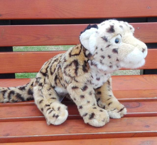 Children S Toy Gifts Clouded Leopard Doll Plush Toys Simulation