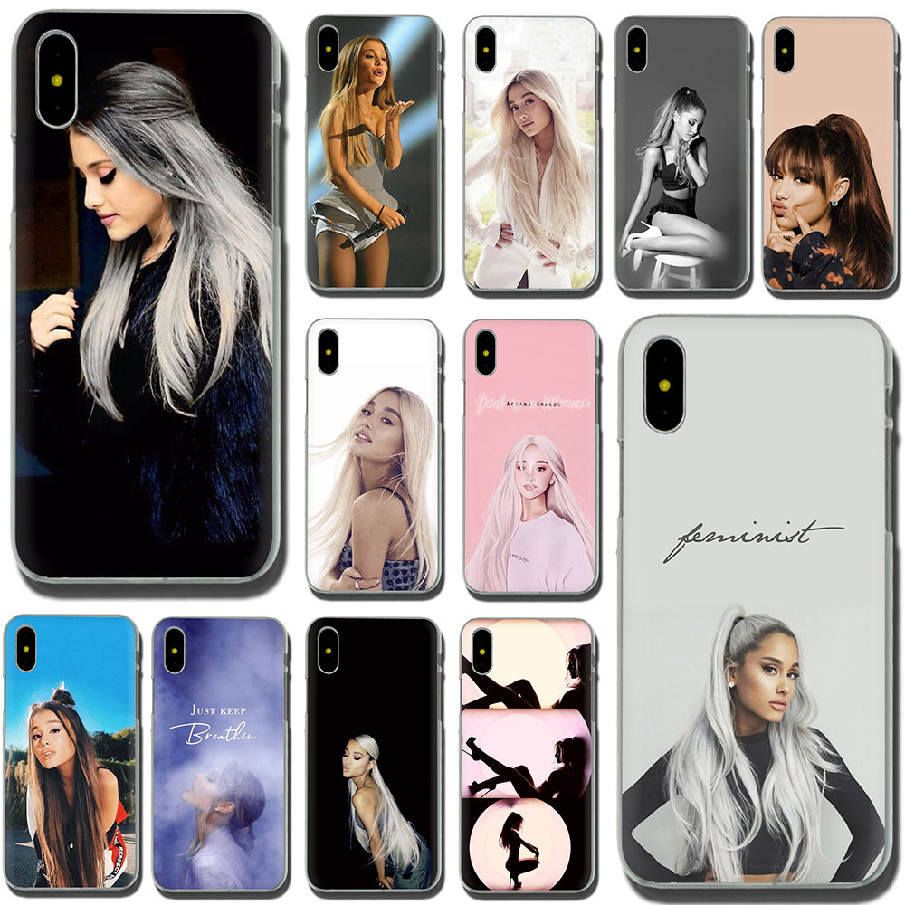 Earnest Cat Ar Ariana Grande Novelty Fundas Hard Phone Case For Apple Iphone Xr Xs Max X 8 7 6 6s Plus Be Novel In Design Phone Bags & Cases Cellphones & Telecommunications