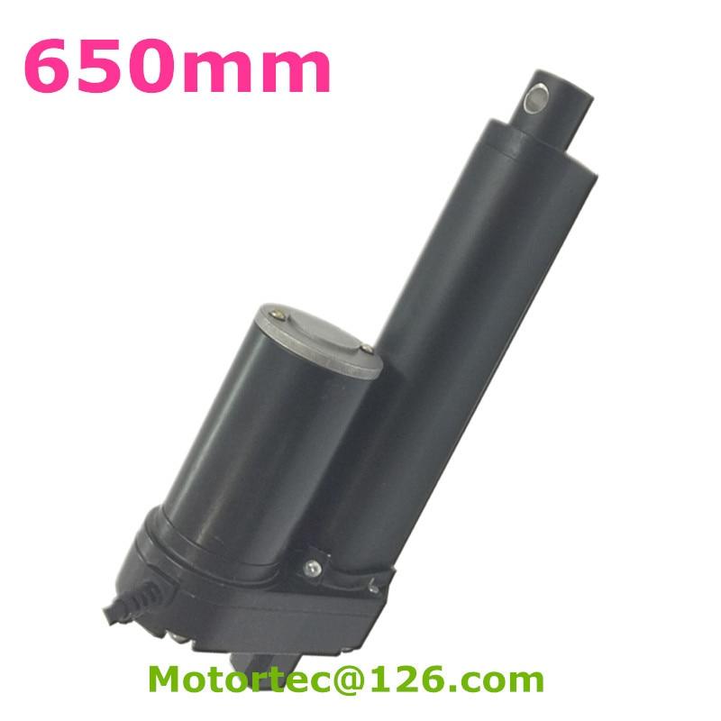 Здесь можно купить   12VDC 24VDC input 650mm stroke fast speed 3500N 350KG 770LB force New heavy duty linear actuator motor  Электротехническое оборудование и материалы