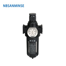 NBSANMINSE SFR 2000 1/4 3/8 1/2 One Units Air Filter Regulator FRL Oil Water Separator Preparation