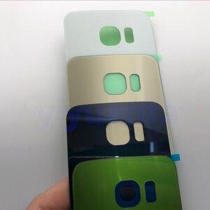 Image 4 - Voor Samsung Galaxy S6 Rand G925 G925F Midden Frame Volledige Behuizing Chassis Batterij cover Glas + Midden Frame S6 G920 g920F