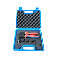 LY03C-5D3 LSD High quality crimping   tool   set hand crimping   tool   with changeable die sets electrician   tool   kit case