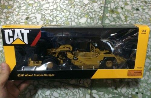 # TR80001-Tonkin répliques CAT 621 K roue tracteur grattoir Caterpillar-1:50 véhicules de chantier