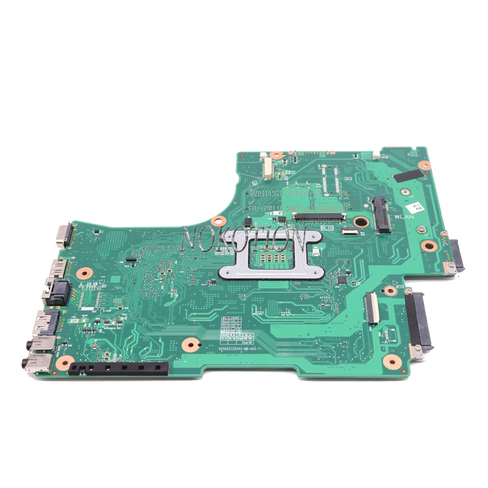 Image 4 - NOKOTION ノートパソコンのマザーボード東芝衛星 L650 L655 1310A2332402 V000218080  V000218010 HM55 UMA メインボード DDR3 送料 CPU    グループ上の  パソコン
