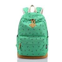 Sunborls kızlar sırt baskı kitap çantası kadın sırt çantası kore şık gençler için okul çantaları sevimli mochila feminina