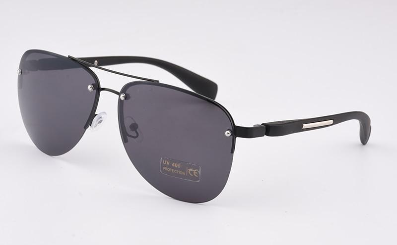 2017 diseñador de moda de metal sin montura gafas de sol mujeres - Accesorios para la ropa - foto 3