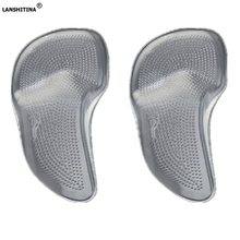 Silicone Gel Foot Massage Unisex Insole Orthopedic Arch Supports Shoe Heart Medical Silica Pad Insoles For Heels Insoles Arch