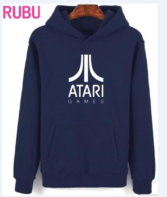 atari felpa  2017 RUBU ATARI hoodies palestre Per Il Fitness bodybuilding Felpa ...