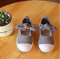 2015 летняя мода боути осень детская обувь обувь для девочек мода дети холст обувь новые детские принцесса девушки одиночные обувь