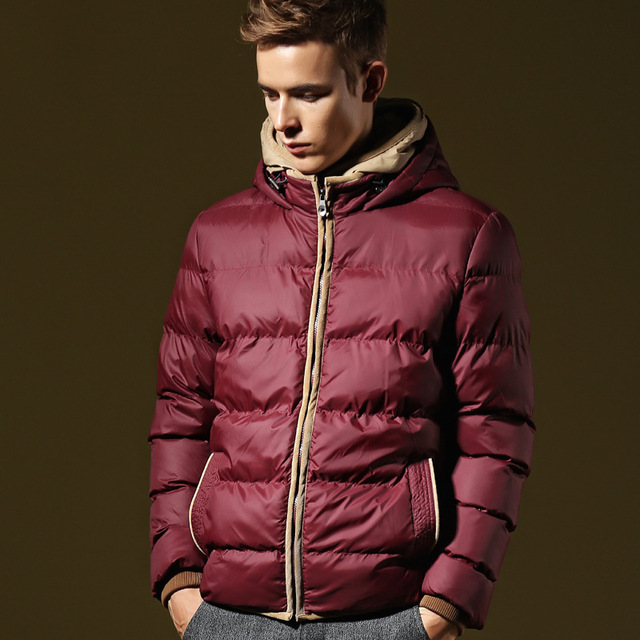 Down Winter Jacket Men