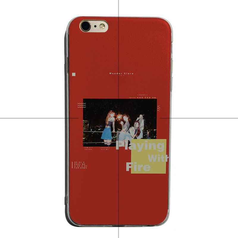 Yinuoda BLACKPINK JISOO JENNIE ROSE LISA soft tpu โทรศัพท์สำหรับ iPhone XSMax X XS XR 7 7 Plus 8 8 plus 6 6 วินาที 6 plus