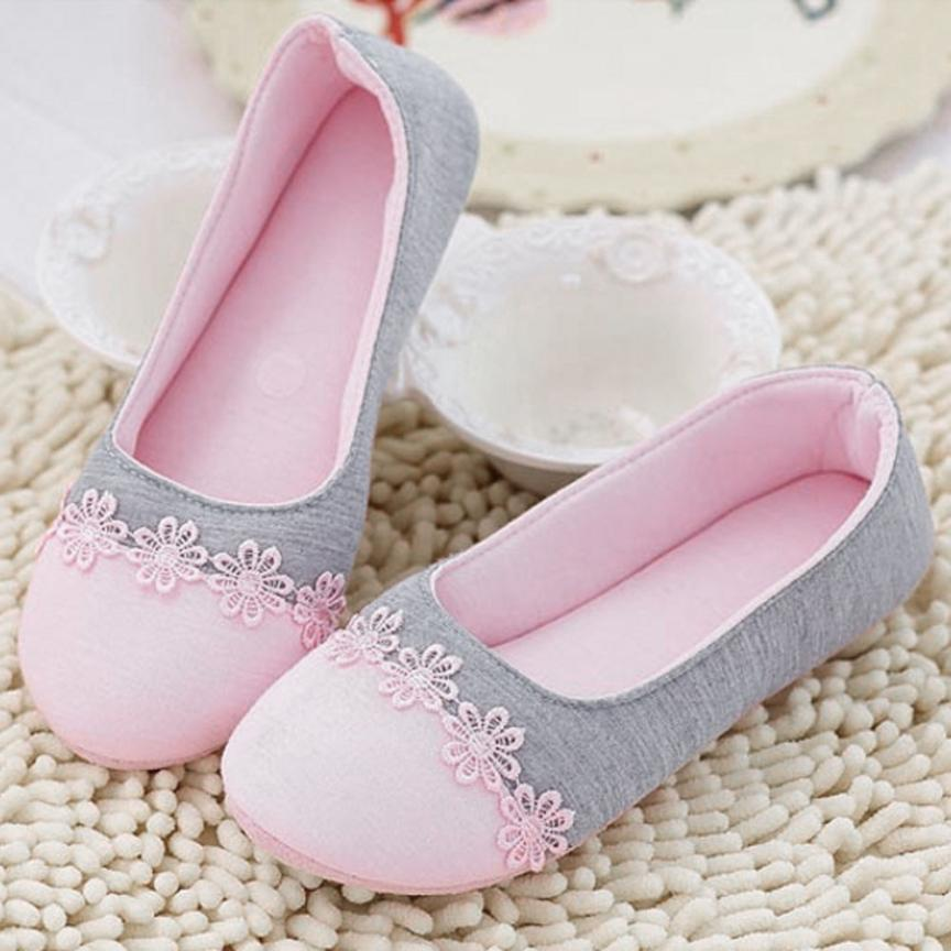 2017 Women Home Slippers Spliced Warm Pregnant Women Shoes  Drop Shipping 17Mar20 shivaki stv 48led15