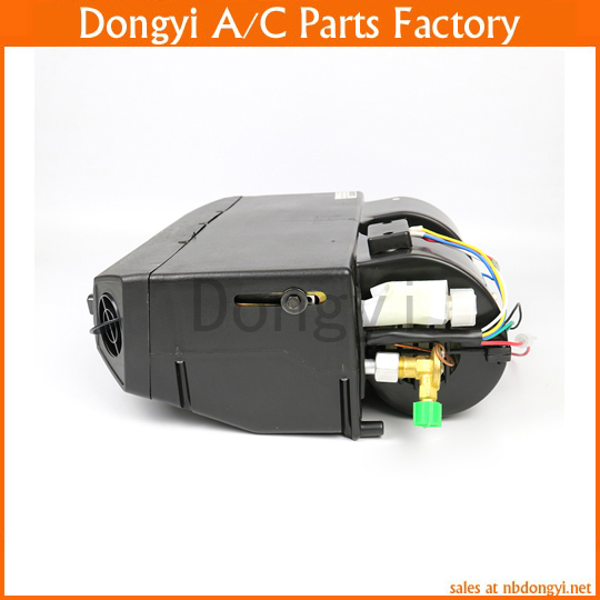Universal A/C Add-On Under Dash Evaporator Assembly Unit Air Conditioner Heater 12V/24V Mini Bus Truck Van Street Red Rod r410a van roof mounted air conditioner horizontal compressor