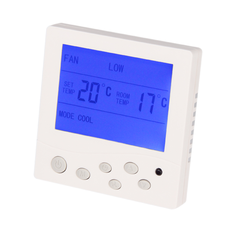 LCD Display Room Thermostat Temperature Controller Thermoregulator For Air Condition 8C