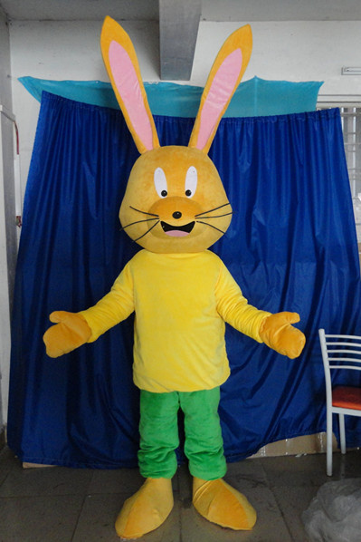 ohlees long ear rabbit mascot costumes party Halloween character party Fancy Dress school team sport Adult Size hot sale