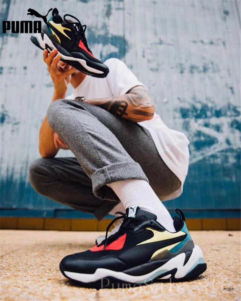 db8acaf30534 ... PUMA Mens Thunder Spectra Sneakers Men Women Sports Shoes 367516-01  Badminton Shoes Thunder Desert ...