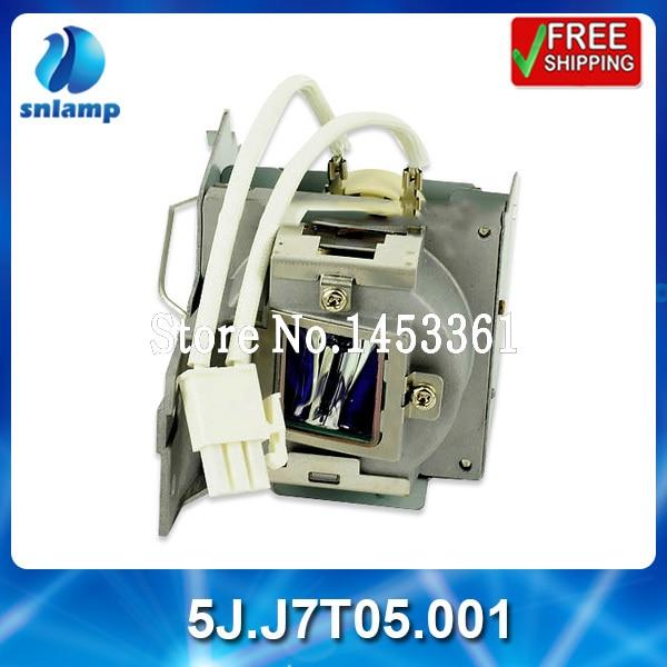 Compatible replacement projector lamp bulb 5J.J7T05.001 for MX815ST/MX815ST+/MX816ST/MW817ST awo sp lamp 016 replacement projector lamp compatible module for infocus lp850 lp860 ask c450 c460 proxima dp8500x