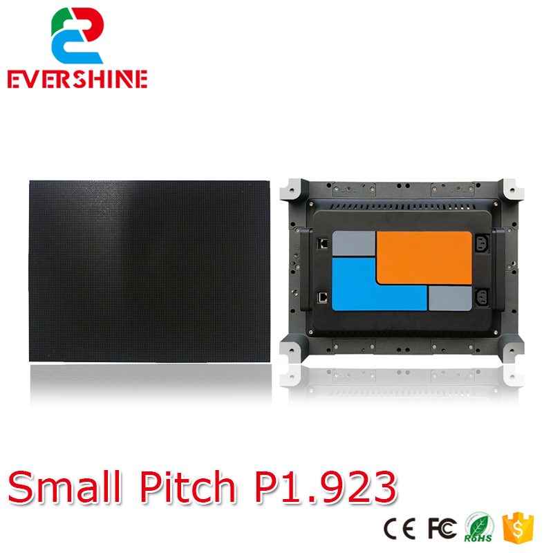 2 К/4 К HD P1.923 Крытый небольшой шаг полноцветный светодиодный дисплей Тонкий кабинета для рекламы встречи, этап, мониторинг, конференции, цент