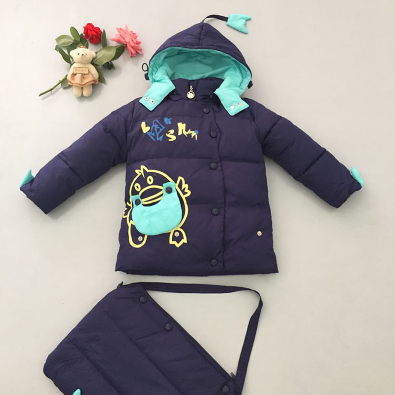 Children Down Sleeping Bag Kids Winter Envelopes Baby Nest Sleeping Down Jacket Infant Baby Snowsuit Baby Boys Girls sleep sack ...