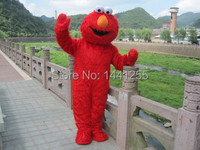 Factory Direct Selling High Quality Long Fur Elmo Mascot Costume Character Costume Cartoon Costume Elmo Cosplay